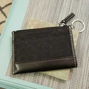 Authentic Coach Mini Skinny Wallet